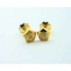 Pendientes oro 18k circonitas - REF. RV-2212/PE