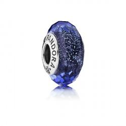 Abalorio Pandora plata 925 cristal murano azul - REF. 791646