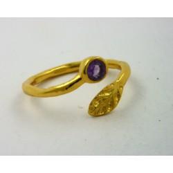 Anillo plata dorada 925 LeCarré - REF. LA084AMML