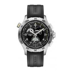 Reloj Hamilton Khaki Pilot Crono WorldTimer - REF. H76714335