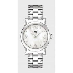 Reloj Tissot con diamantes para señora - REF. T0282101111701