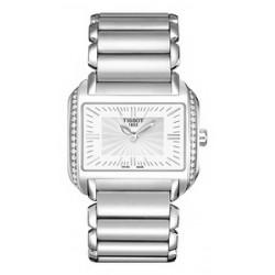Reloj Tissot para señora con diamantes - REF. T0233091103101
