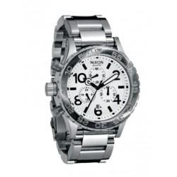 Reloj Nixon 42-20 Chrono White - REF. A037100
