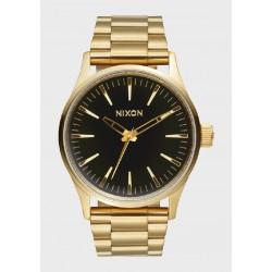 Reloj Nixon Sentry 38 SS Gold/ Black Sunray - REF. A4501604