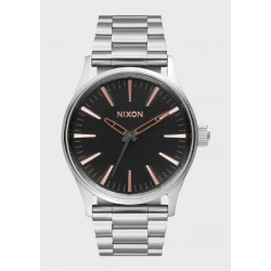 Reloj Nixon Sentry 38 SS Gray/Rose Gold - REF. A4502064