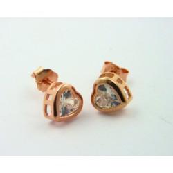 Pendientes Luxenter Nyos plata rosa 925 - REF. EH030R0000