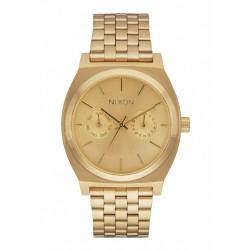 Reloj Nixon Teller Deluxe All Gold - REF. A922502