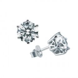 Pendientes DiamonFire plata 925 con circonitas - REF. 6210111082