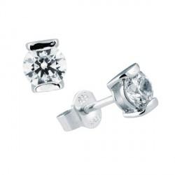 Pendientes DiamonFire plata 925 con circonitas - REF. 6212581082