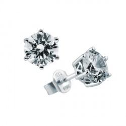 Pendientes DiamonFire plata 925 con circonitas - REF. 6212641082