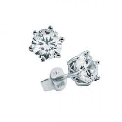 Pendientes DiamonFire plata 925 con circonitas - REF. 6212651082