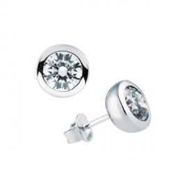Pendientes DiamonFire plata 925 con circonitas - REF. 6212701082