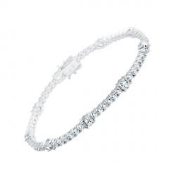 Pulsera DiamonFire plata 925 con circonitas - REF. 6404871082