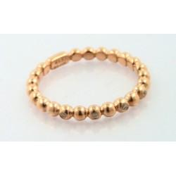 Anillo oro rosa 18k con diamantes - REF. DD-453114/S