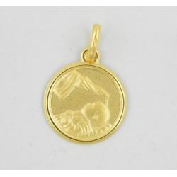 Medalla oro 750 Bautismo - REF. AR-126046814ME