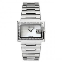 Reloj Gucci 100L con brillantes - REF. YA100510