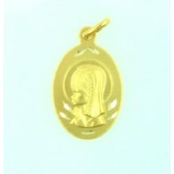 Medalla oro 750 Virgen Niña - REF. AR-143310404ME