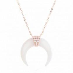 Collar Luxenter Larkwe plata rosa 925 - REF. PXA001R11500