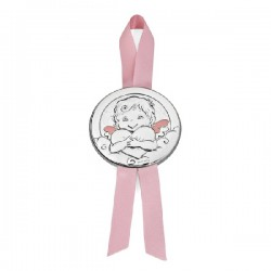 Medalla cuna Durán Exquse plata bilaminada - REF. 07500281