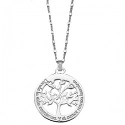 Gargantilla Lotus Silver plata 925 - REF. LP1641-1/1