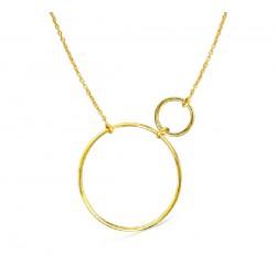 Gargantilla Lecarré plata dorada 925 - REF. LD053AM.00