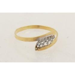Anillo oro 750 talla 12 - REF. GA-HRO1708