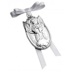 Medalla Pedro Durán de cuna plata 925 - REF. 00300057
