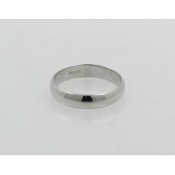 Alianza platino 950 media caña de 4mm talla 13 - REF. DD-APTM400/13