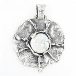 Colgante La Perionda plata 925 y perla - REF. 0786