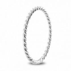 Anillo ARGYOR oro blanco 750 talla 15 - REF. 5B16518/15