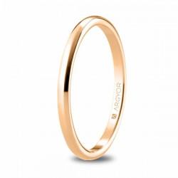 Anillo ARGYOR oro rosa 750 talla 15 - REF. 5R18529/15