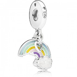 Abalorio Pandora plata 925 ¨Arco Iris¨ - REF. 797016ENMX