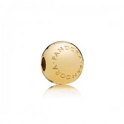 Abalorio clip Pandora Shine plata 925 dorada - REF. 767053
