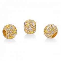 Abalorio Pandora Shine plata 925 dorada - REF. 767052CSY
