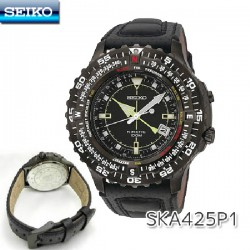 Reloj Seiko Kinetic Pilot para caballero - REF. SKA425P1