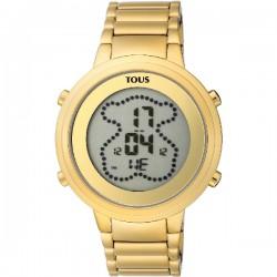 Reloj Tous Digibear acero IP dorado para señora - REF. 900350035