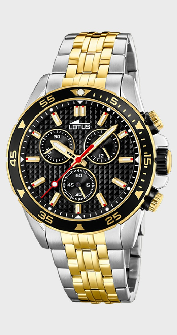 92d780edcafb Reloj Lotus Crono para caballero - REF. L18651 4 - Joyería Manjón