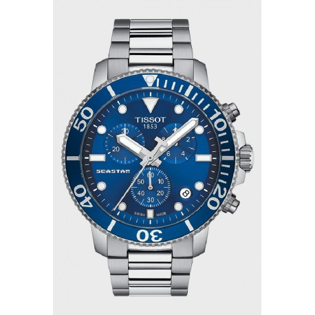 Reloj Tissot Seastar Crono Cuarzo para caballero - REF. T1204171104100