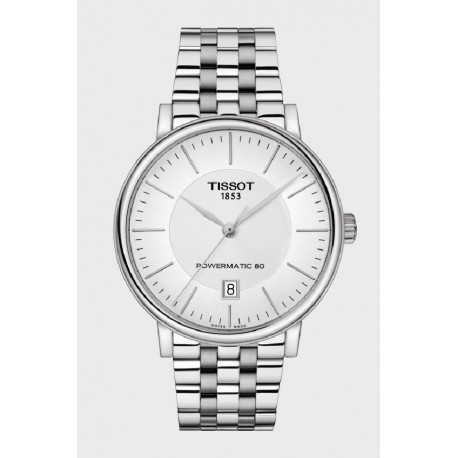 Reloj Tissot Carson Powermatic 80 para caballero - REF. T1224071103100