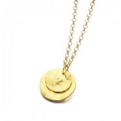 Gargantilla LeCarré plata 925 dorada - REF. LD082AM.00