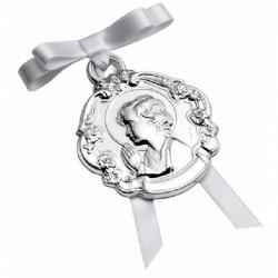 Medalla de cuna Pedro Durán plata 925 - REF. 00300059