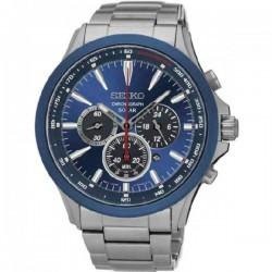Reloj Seiko Solar crono para caballero - REF. SSC495P1