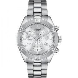 Reloj Tissot PR100 Chrono Sport Chic para señora - REF. T1019171103100