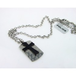 Collar Police Jewels de acero - REF. S14AQZ01P
