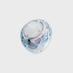 Anillo Yanes Young plata 925 talla 12 - REF. 0715156301