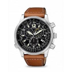 Reloj Citizen Crono Pilot acero EcoDrive - REF. CB5860-27E