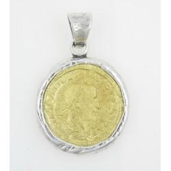 Colgante La Perionda plata 925 y bronce - REF. 0917O