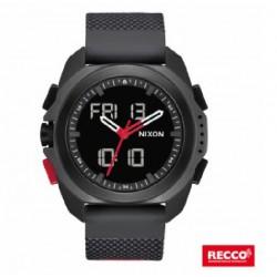 Reloj Nixon Ripley Black/Red Recco - REF. A12673251