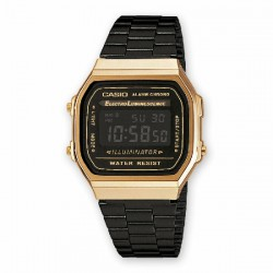 Reloj Casio digital retro - REF. A168WEGB-1BEF