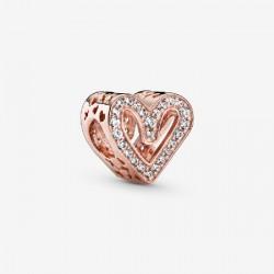Abalorio Pandora Rose plata 925 - REF. 788692C01